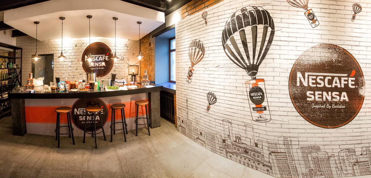 Презентация нового бренда кофе Nescafe Sensa