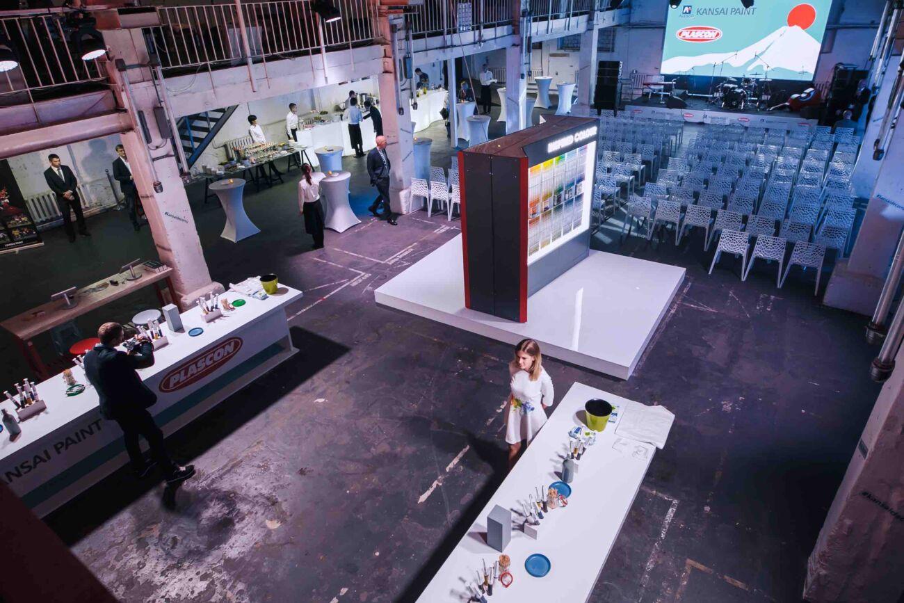 Церемония открытия компании Kansai Paint в России